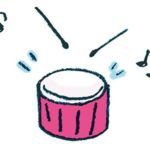 ドラム・太鼓・小太鼓のイラスト