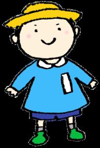 フリーイラスト・男の子・子ども・園児