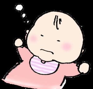 フリーイラスト・赤ちゃん・眠る・ベビー
