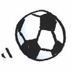フリーイラスト・サッカーボール