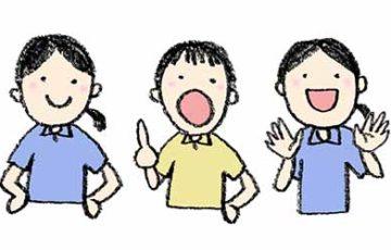 無料素材・先生・女性・学校・保育園・幼稚園