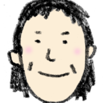 フリーイラスト・おばさん・中年・女性の顔