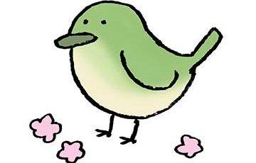 ウグイス・うぐいす・鶯・鳥・フリーイラスト・無料素材