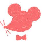 ネズミ・子・ねずみ・イラスト・和風・手書き・可愛い・年賀状・干支・2020年・フリー・シルエット・シンプル