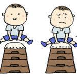 無料イラスト・フリー素材・かわいい手描き・跳び箱・とび箱・飛び箱・子ども・男の子