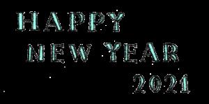 happy new year2021・手書き文字・フリー素材・無料・年賀状・英語・かわいい・おしゃれ・洋風・ナチュラル