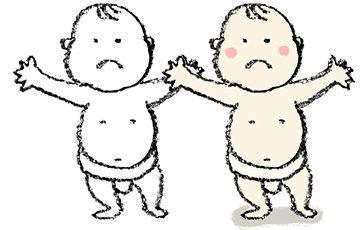 無料イラスト・手書き・可愛い・フリー素材・赤ちゃん・子ども・相撲・ふんどし・バンザイ